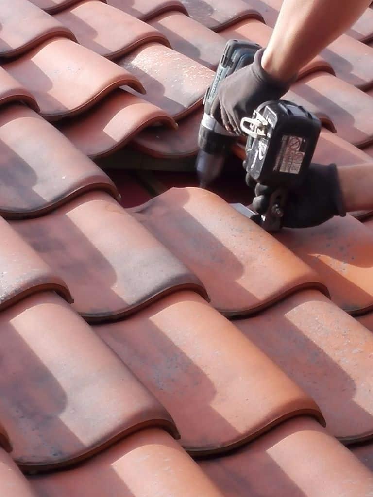 montage zonnepanelen pannendak te Herentals