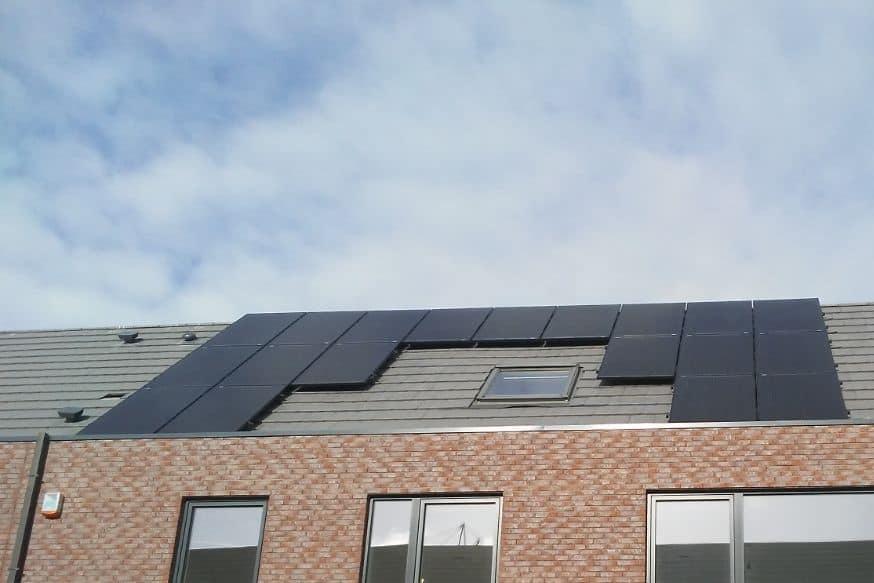 Zonnepanelen nieuwbouw Boechout