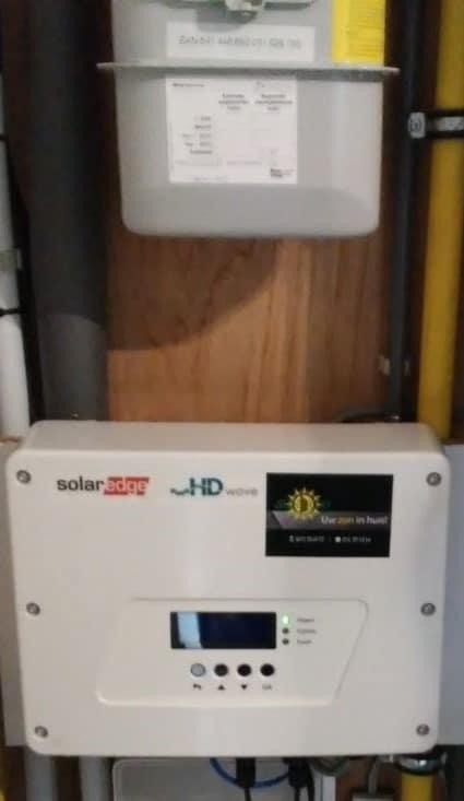 omvormer voor zonnepanelen in Meerhout