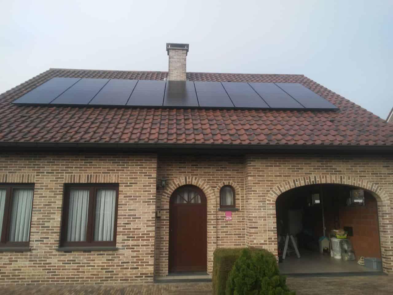 zonnepanelen op pannendak in Mol