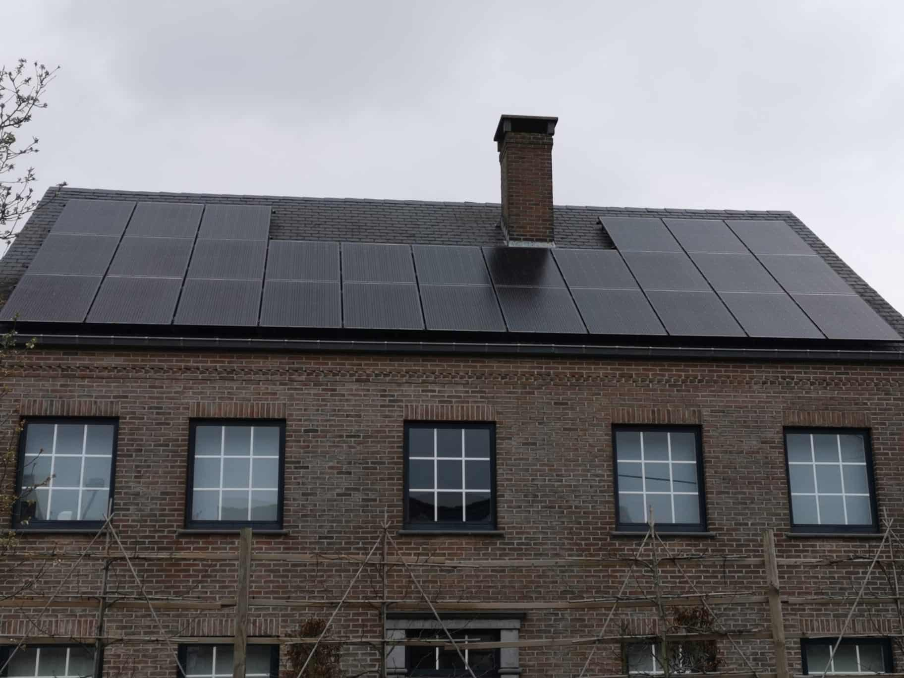 Zonnepanelen Solarwatt in Berlaar
